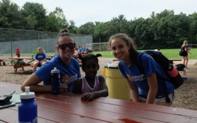 The JCC Welcomes Refugee Kids to Camp! Sinai Temple Helps Get Them ready for Fun!
