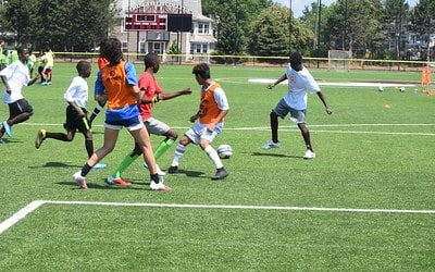 Summer Kicked Off with Soccer without Borders Camp
